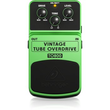 BEHRINGER TO800 Pedal  Guitarra Efecto Overdrive