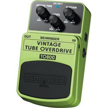 BEHRINGER Pedal  Guitarra Efecto Overdrive TO800 Behringer TO-800