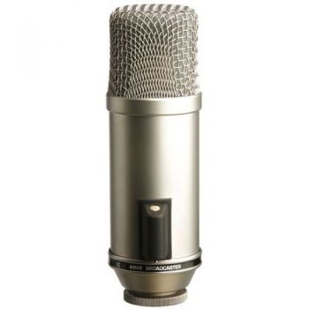RODE BROADCASTER Microfono de Estudio de Condensador Cardioide
