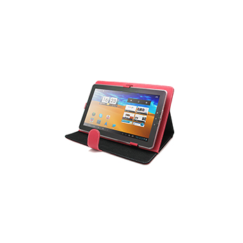 UNOTEC 40.0084 P100  Funda Roja Para Tablet PC 10.1
