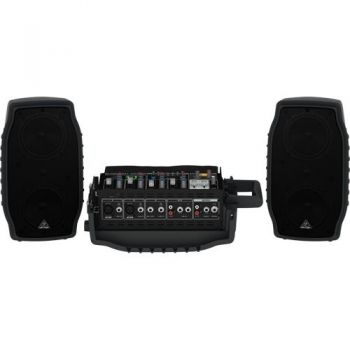 BEHRINGER PPA200 Sistema PA, 200w, 5 Canales, Ultracompacto