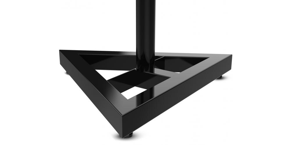 audibax neo SM1 soporte suelo monitor altavoz negro triangular