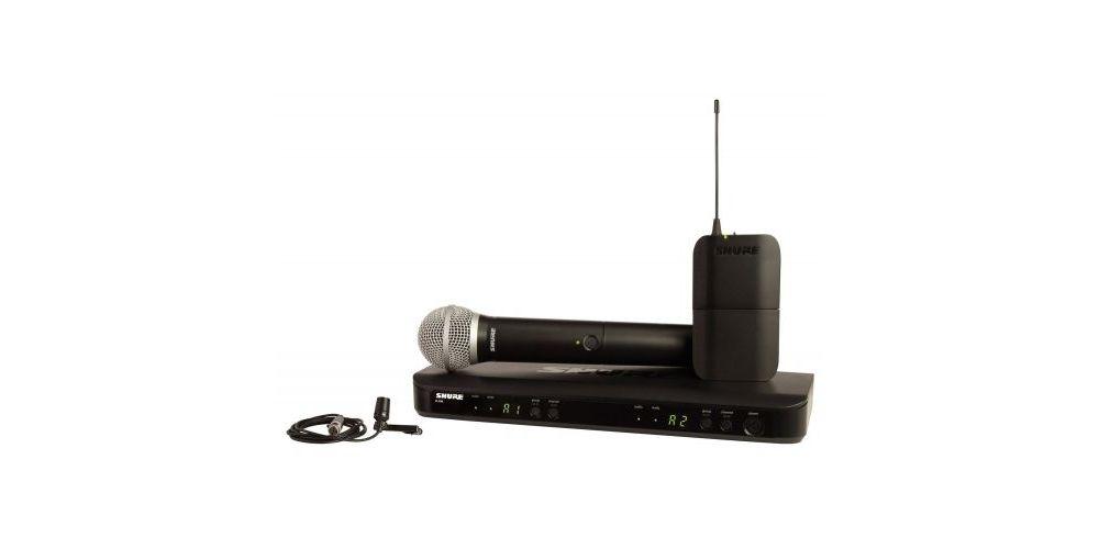 shure BLX1288CVL microfono