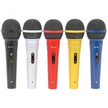 QTX DM5X Conjunto de 5 Microfonos Vocales