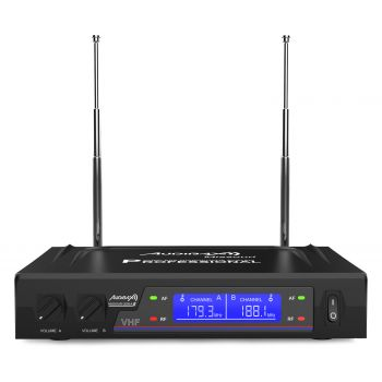 Audibax Missouri 2000 Micrófono Inalámbrico Mano VHF Rango A