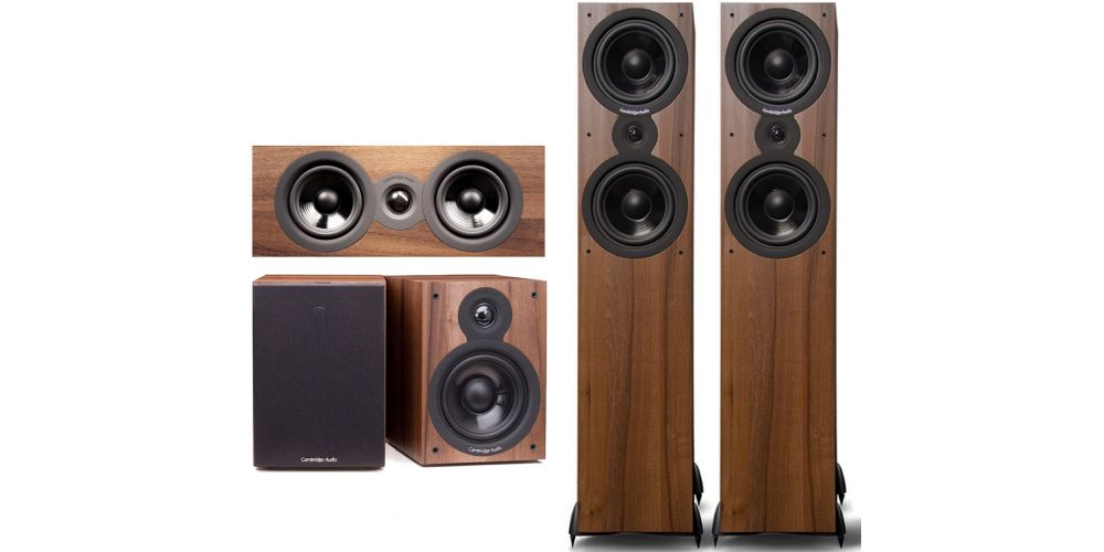 Cambridge Audio SX  80 cinema pack  Columna altavoz acabado walnut sx80 sx70 sx50 walnut