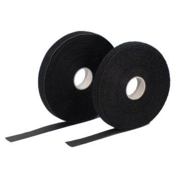 Adam Hall 5810 Rollo doble de Velcro 20 mm de ancho