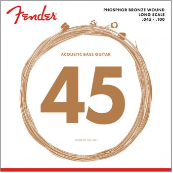 Fender 8060 Acoustic Bass Cuerdas Phosphor Bronze.45-.100
