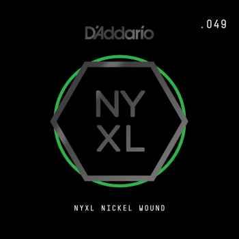 D´addario NYNW049 Cuerda Suelta para Guitarra Eléctrica