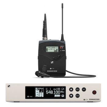 Sennheiser EW 100-G4-ME4 RANGO 1G8 Micrófono Solapa Cardioide
