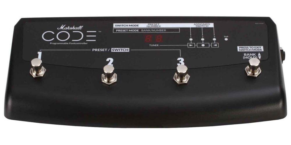 marshall pedl91009 pedalera switch