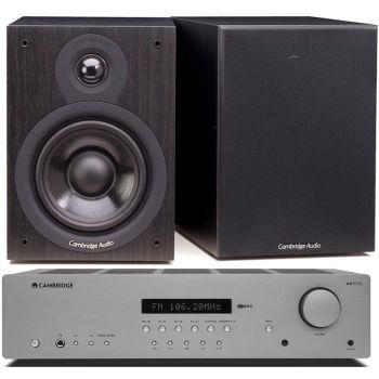CAMBRIDGE AXR100+SX-50 Black  Conjunto Sonido