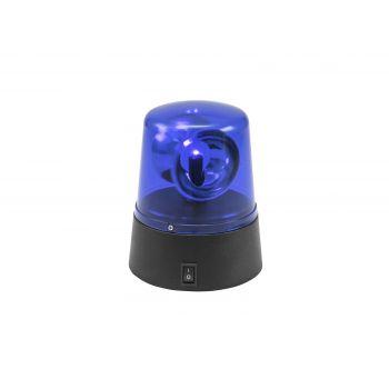 Eurolite Led Mini Police Beacon Blue USB/Battery Sirena