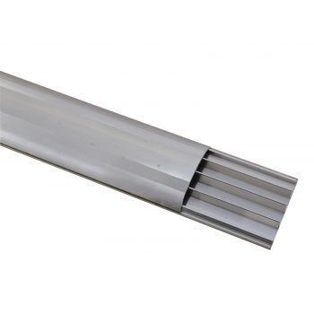 Eurolite Pasacables 4 Canales 75mm Silver 4m