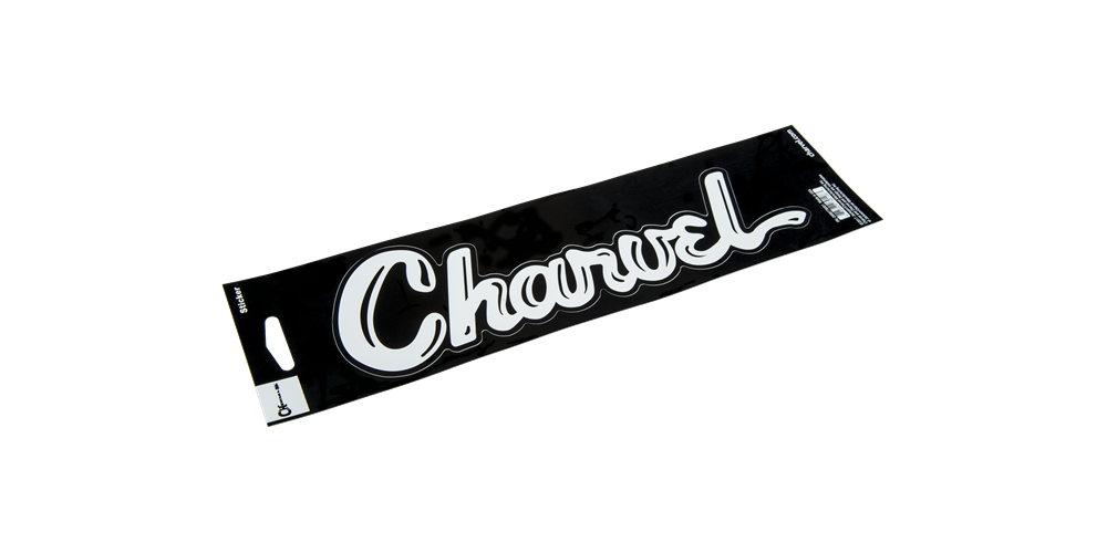Charvel CHARVEL VINYL STICKER WHT