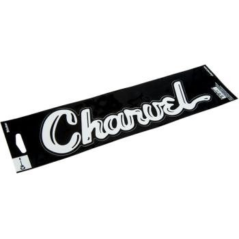 Charvel Pegatina de Vinilo White