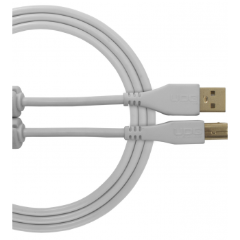 Udg U95002WH Ultimate Cable USB 2.0 A-B Blanco 2 Metros