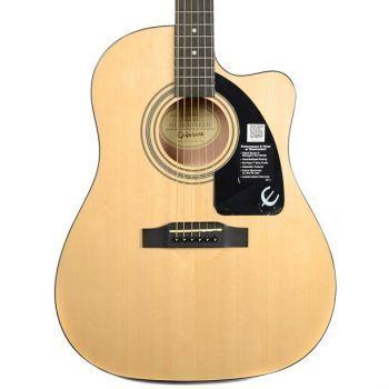 Epiphone AJ-100CE Jumbo Natural Guitarra Acústica