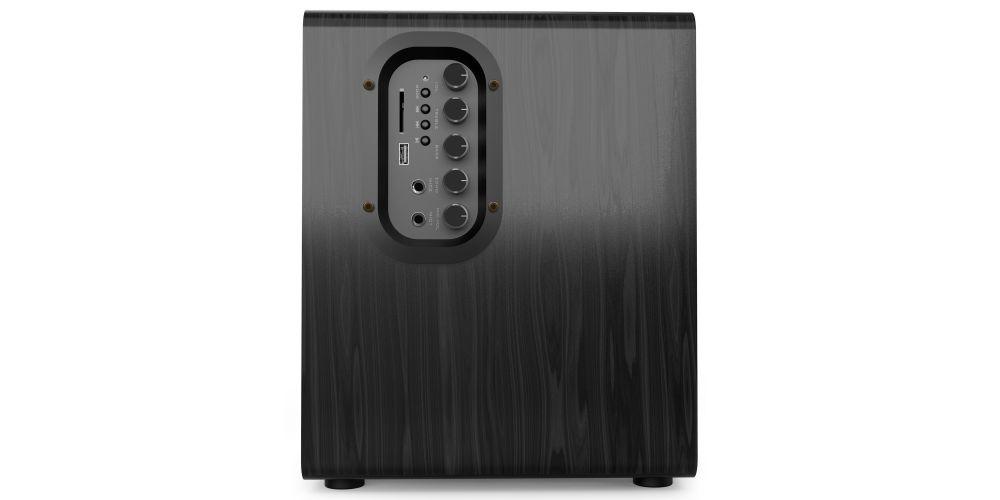 audibax beta 1bt altavoces estantería bluetooth activos 50w controles