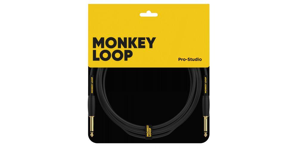 monkey loop pro studio series s s 3m cable profesional guitarra bajo packaging