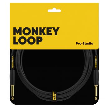 Monkey Loop Pro Studio Silent Cable Jack Mono - Jack Mono 3 Metros