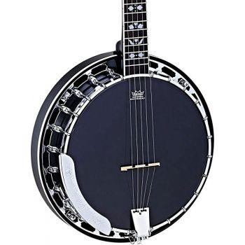 Ortega OBJ450-SBK Banjo Satin Black