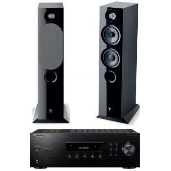 PIONEER SX-10AE-B+Focal Chora 816 BK Conjunto Audio