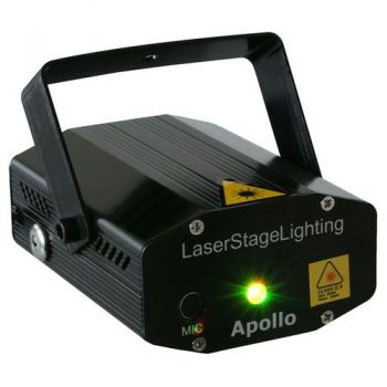 BEAMZ 152752 Apollo Laser multipunto - Rojo + Verde