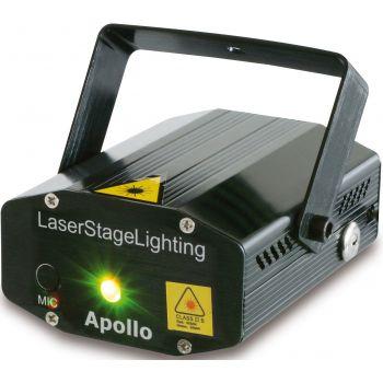 BEAMZ Apollo Laser multipunto - Rojo + Verde 152752