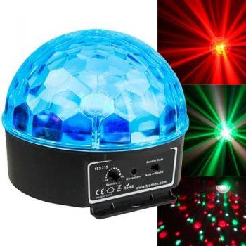 BEAMZ 153215 Mini Star Bola Sound 6x 3W RGBAW LEDs
