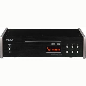 TEAC PD-501HR B Reproductor Compact Disc, DSD Y PCM, Negro