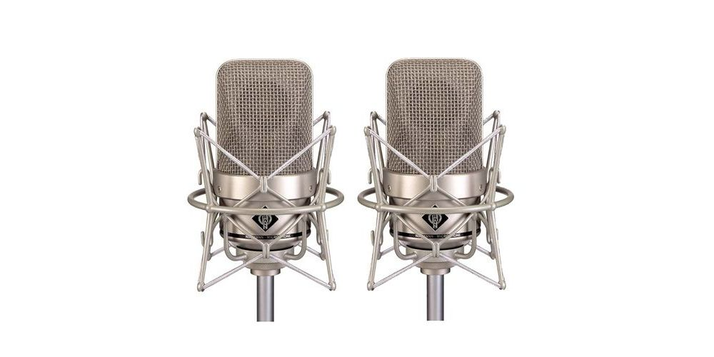 NEUMANN M-150 TUBE STEREO SET Micrófono Valvulas Omnidireccional