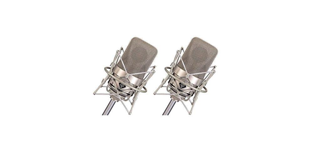 micros neumann m 150 tube stereo set