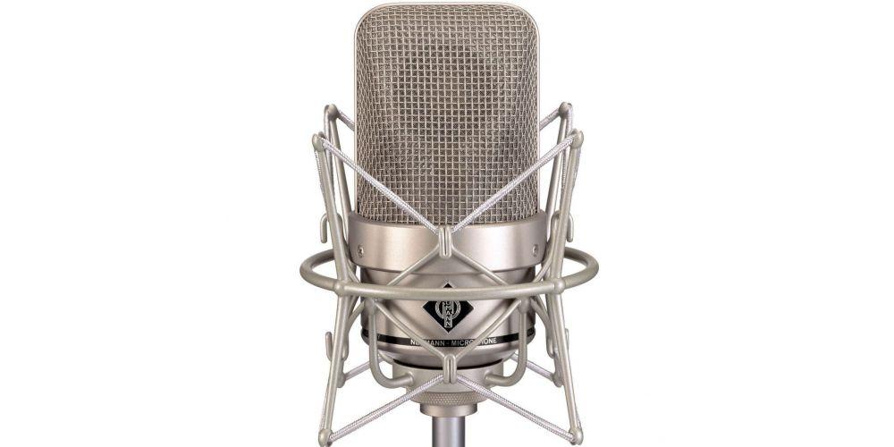 neumann m 150 tube stereo set microfono