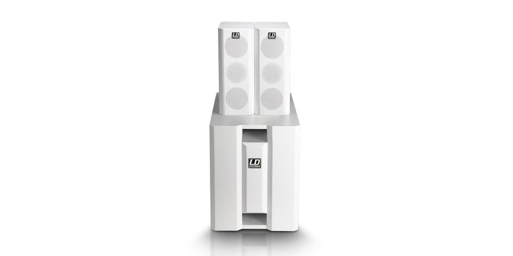 LD SYSTEMS DAVE 8 XSW Sistema PA Blanco
