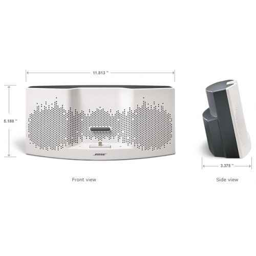 BOSE SOUNDDOCK XT I para iPhone 5 Color Blanco Gris