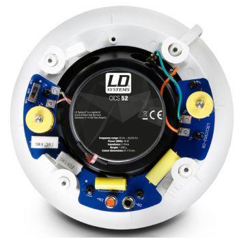 LD SYSTEMS Contractor CICS 52 Altavoz empotrable en techo de 5,25