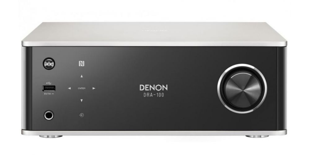 DENON DRA-100 Receptor Audio Red