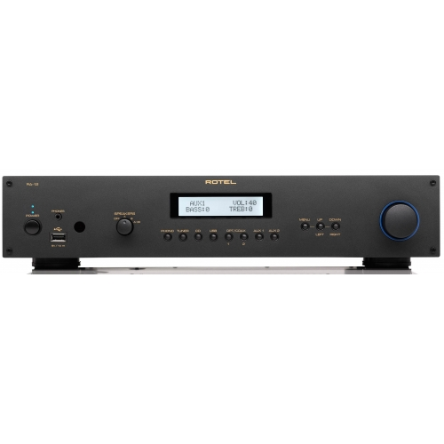 ROTEL RA12 Black Amplificador Negro+B&W CM1S2 Negro
