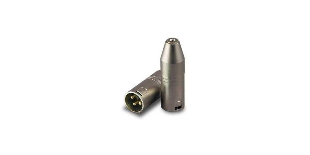 Adaptador XLR Macho a Mini Jack Stereo Hembra RF:504