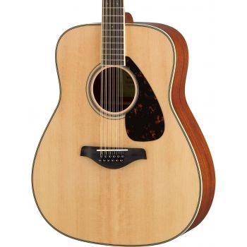 YAMAHA FG820-12 NT ll Guitarra Acustica 12 Cuerdas