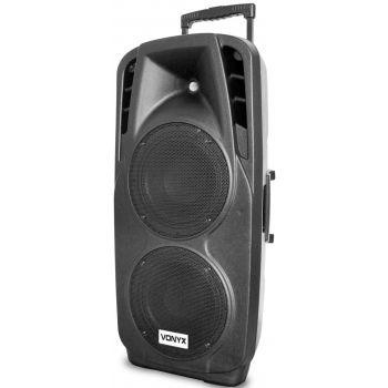 Vonyx SPX-PA9210 Sistema Portatil de Sonido ABS 2x10