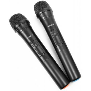 Vonyx SPX-PA9210 Sistema Portatil de Sonido ABS 2x10'' 170082