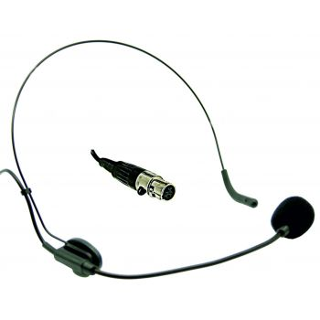Microfono de Diadema Mini XLR para Petaca Audibax