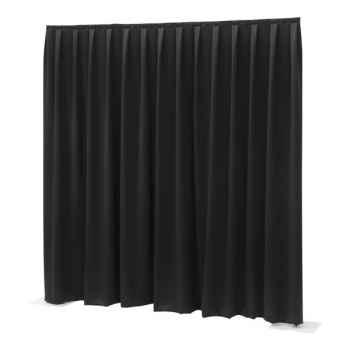 Showtec P D curtain Dimout Cortina Negra 89449