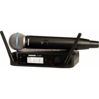 SHURE GLXD24RE B87A Z2 Micrófono inalámbrico vocal de mano