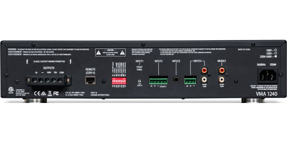 AMPLIFICADOR JBL VMA1240