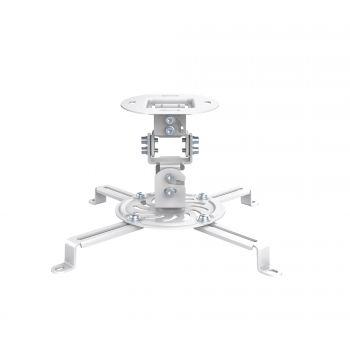 Fonestar SPR-547B Soporte orientable de techo para proyectores Blanco