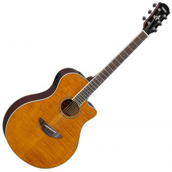 YAMAHA APX 600FM AMBER Guitarra Electro Acustica