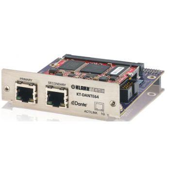 Midas KT-DANTE64 Módulo Audinate Dante Network con 64 canales bidireccionales.